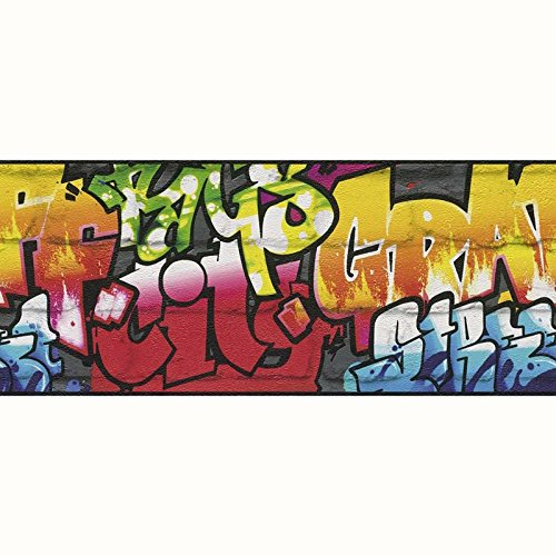 Urban Graffiti 5Meter Bordüre 237900