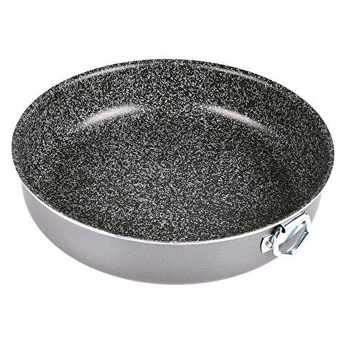 Alluflon Tradizione Italia molde para tarta, aluminio, Negro
