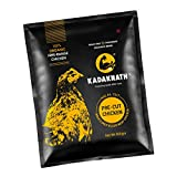 It comes in 'food-grade foil bag packaging with 900gm (Approx.) free-range KADAKNATH whole chicken. High Protein   Low Fat   Low Cholesterol   Rich In Iron   Infuse Vigour