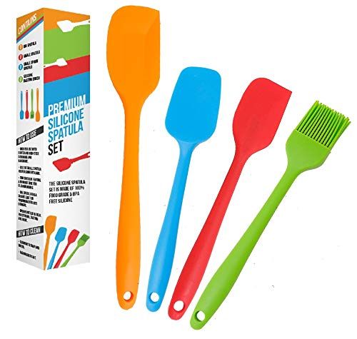 Silicone Spatula set – Heat Resistant and Non-Stick Spatulas