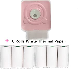 Mini Printer Inkless Bluetooth Pocket Portable Thermal Printer Picture Mobile Mini Photo Printer