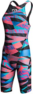 TYR Sport Girls' Comic Strip Ringback Swim Suit