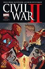 Civil War II n°1 de Brian Michael Bendis