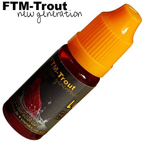 FTM Leber 10ml - Fischlockstoff zum Angeln, Lockstoff für Raubfische, Forellen & Friedfische, Lockmittel für Fische, Lockstoffe