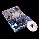 Kit de iniciación de motor paso a paso para principiantes con caja de venta al por menor Componente Electrónico Kit de diversión para Arduino UNO R3