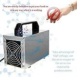 NOBRAND Portátil Uso en el hogar y Comercial Generador de ozono Aire purificador de Aire 28g/h Generador de ozono Deodorizer and Sterilizer,Elimine el 99.99% Olor