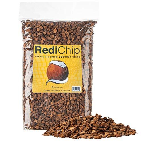 ReptiChip: RediChip Premium Coconut Reptile Substrate Medium Sized Chips (8 Quart)