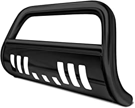 R&L Racing Black Heavy Duty Steel Bull Bar Brush Push Bumper Grill Grille Guard 03-09 4Runner/Gx470