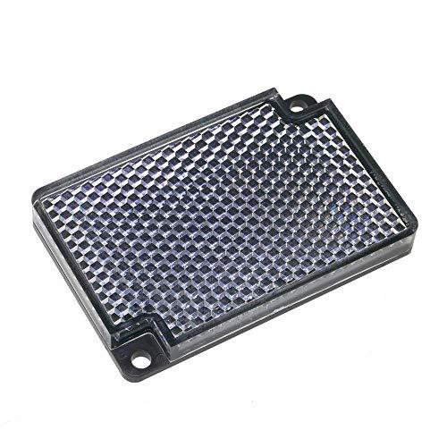 BeMatik - Katadioptrische Spiegelreflektor rechteckig für Fotozelle photoelektrischen 55x35mm