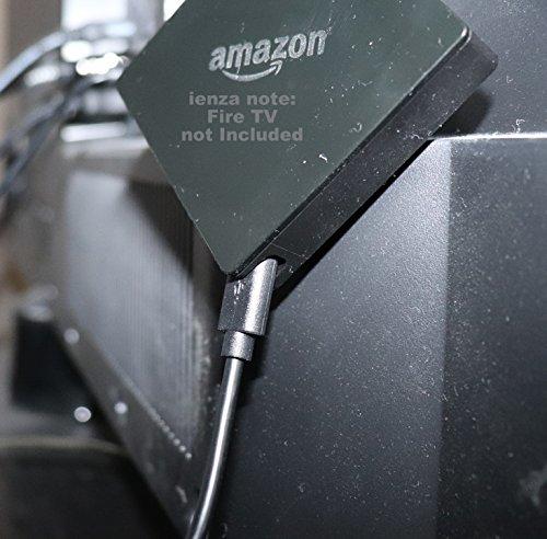 LONG(10英尺)USB电源线用于全新的火电视带4K超高清和Alexa语音遥控器(2017年版,吊坠)流媒体播放器(不包括电源适配器)
