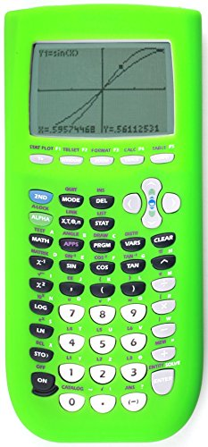 Guerrilla Silicone Case for Texas Instruments TI-84 Plus Graphing Calculator, Green Photo #4