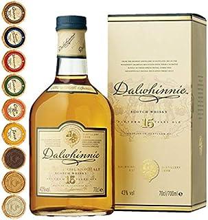 Dalwhinnie 15 Jahre Single Malt Whisky  9 Edel Schokoladen in 9 Sorten