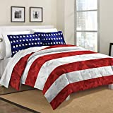 Stars and Stripes Camo Comforter Set