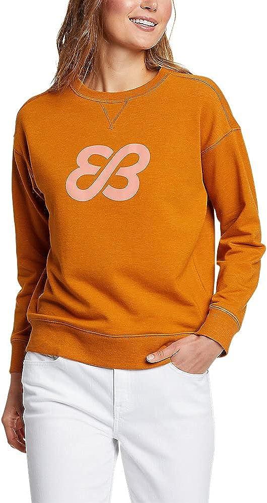 Eddie Bauer Women's Cozy Camp Logo Crew