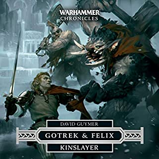 Kinslayer audiobook cover art