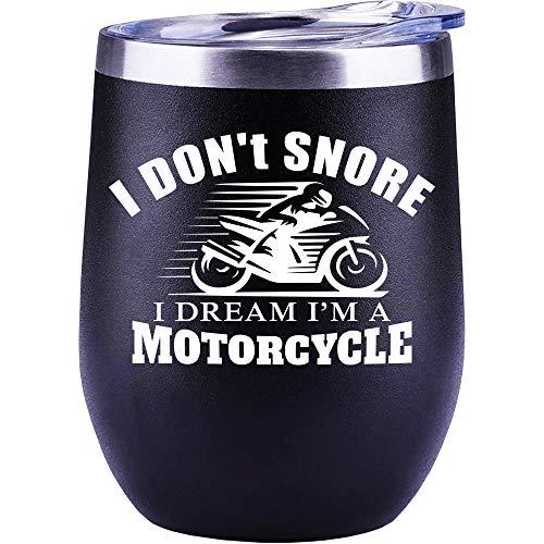 Motorcycle Gifts For Men   Harley Davidson   Grandpa   Women   Christmas Gifts   Dad   Husband   Boyfriend   Funny Wine Glass