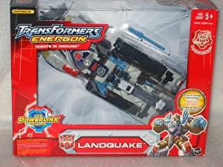 Hasbro Transformers Energon LANDQUAKE Powerlinx Figure REPAINT