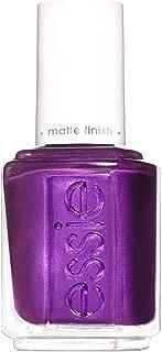 essie nail polish, purple nail color, matte finish, hold'em tight, 0.46 Fl Oz