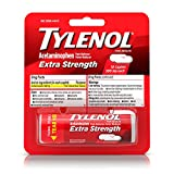Tylenol Extra Strength Caplets with 500 mg Acetaminophen, Pain Reliever & Fever Reducer, 10 ct