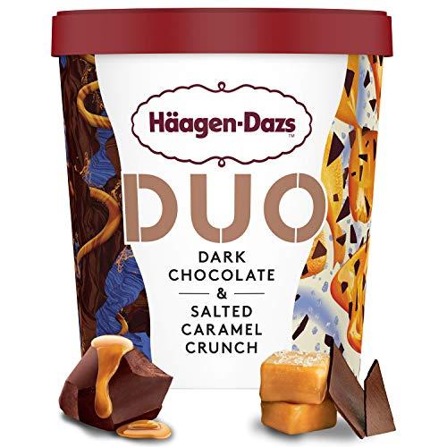 Häagen-Dazs Duo Dark Chocolate & Salted Caramel Tarrina, 460ml