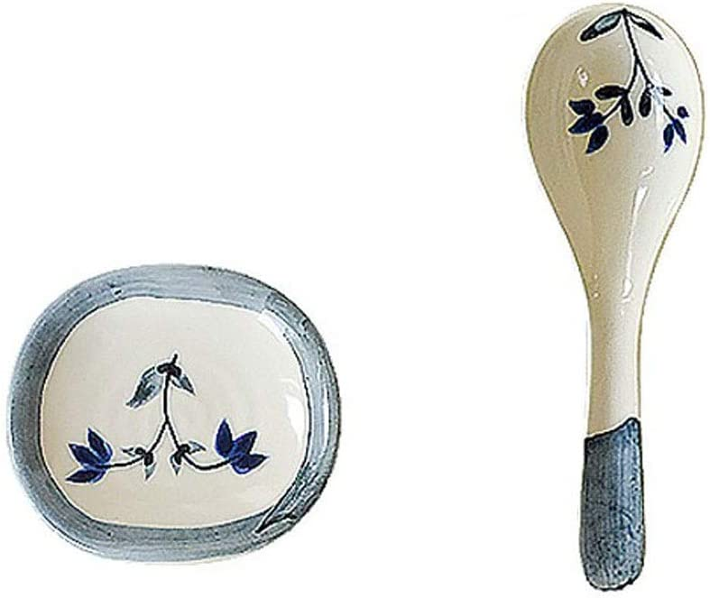 Dessert Spoon Cute Household Ceramic Limited price Soup Same day shipping Long Handle Small Spoo