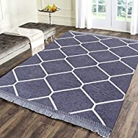 One Unit contains one carpet/ area rug / Picnic mat , Easily foldable so that you can carry it anywhere like outings ,picnics , praying , doing yoga Fabrics - High Quality chennille yarn Size : 4.5 ft x 6 ft , 138 cms x 184 cms easy machine wash and ...