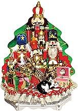 KPZ Ballet Nutcracker Christmas Fabric 500 Pieces Jigsaw Puzzle for Adults Teens Brain Teaser Home Decor Gift Boredom Buster Activity
