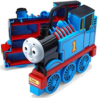 thomas play and go wooden carry case