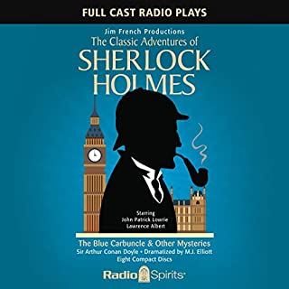 The Classic Adventures of Sherlock Holmes: Blue Carbuncle & Other Mysteries audiobook cover art
