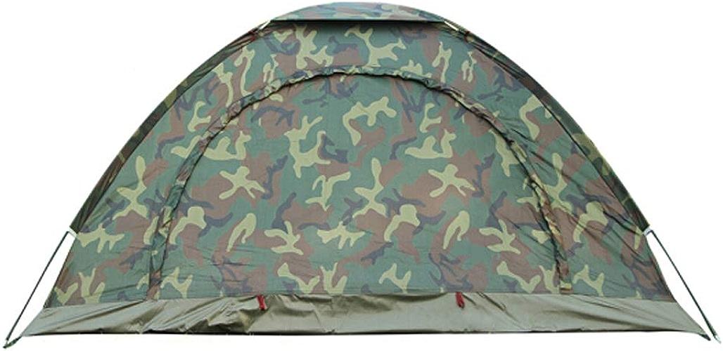 LAL6 Tente portable Loisirs de Loisirs en Plein air 4-5 Personnes Filets de Camouflage