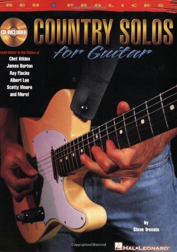 Country Solos for Guitar: REH * Prolicks Series (Reh U Prolicks ...