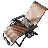LLMY liegestuhl Multifunktionale Pausenliege, Zero Gravity Klappsessel, Getränkehalter Design, Quadratischer Stahlrahmen, Massage Fußstütze, für Büro Im Freien Strand