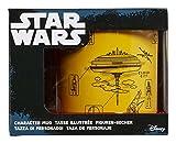 Funko SW02608 Star Wars Mug 20oz The Empire Strikes Back Blueprint, Ceramic, Yellow, 28.2 x 21 x 11.5 cm
