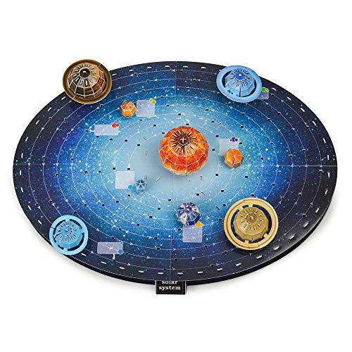 Juguete De Rompecabezas Niños 4 a 10 Años, Regalo Juguete Aprendizaje Niños Niñas 5 a 9 Años Kit Planetas Sistema Solar 3 a 6 Años Pequeño Ciencia Educativa Juguetes Espaciales Presentes Niño Niña
