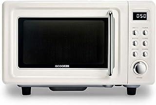 L.TSA Cocina 700W Retro Flat Microondas Horno 18L Capacidad Estéreo Velocidad Uniforme Clasificación en Caliente Professonal Descongelación