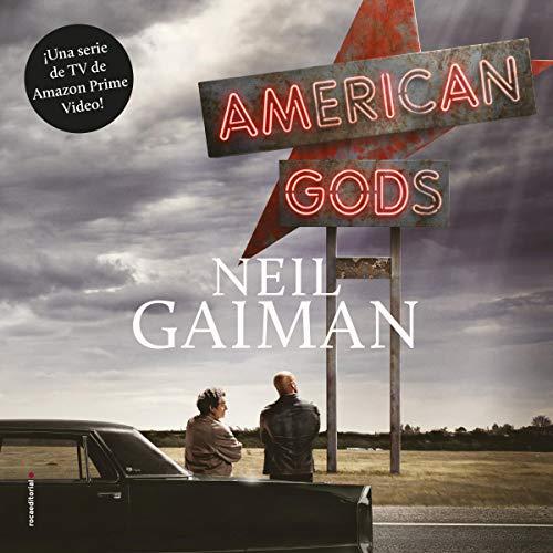 Diseño de la portada del título American Gods (Spanish Edition)