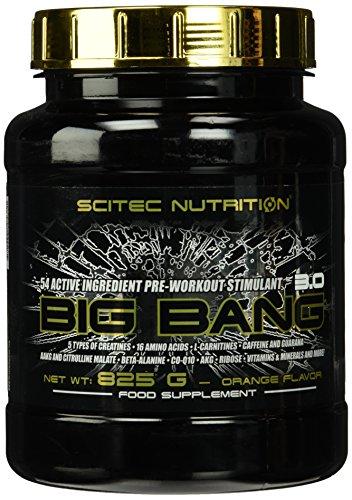 Scitec Nutrition Pre-workout  Big Bang 3.0 Orange, 825g
