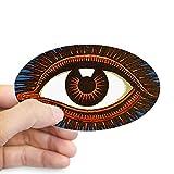 CafePress Eye Eyeball Sticker Oval Bumper Sticker, Euro Oval Car Decal