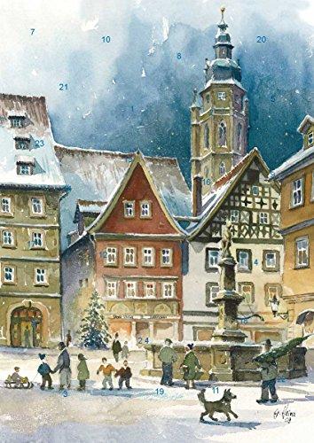 Adventskalender Coburg - Weihnachtsstimmung am Rückertbrunnen