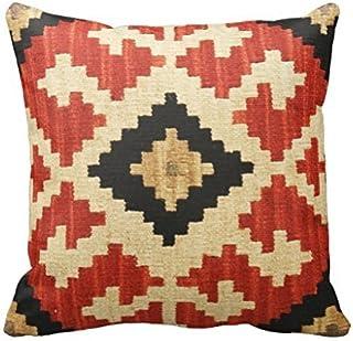 vintage cap Soft Cotton&Linen Cushion Cover Pillowcases Throw Pillow Tribal Patterns Geometric Indian Native Wester Decor Pillow Case Home Decor 18