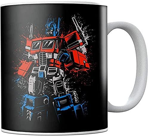 Transformers Optimus Prime - Taza de café (cerámica, diseño de puño apretado)
