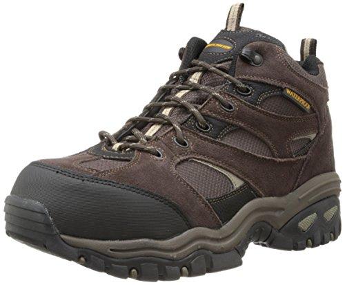 Skechers for Work Men's Clan Boot, Brown, 8 M US