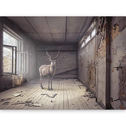 murando Fototapete 450x280 cm Vlies Tapeten Wandtapete XXL Moderne Wanddeko Design Wand Dekoration Wohnzimmer Schlafzimmer Büro Flur Tiere 10120903-2