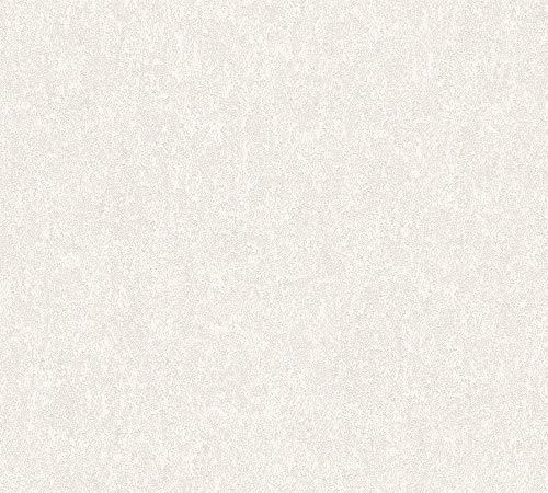 Vliestapete Jette Joop Struktur cremeweiß silber Glanz 33923-4