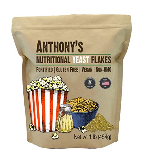 Anthony's Premium Nutritional Yeast Flakes, 1 lb