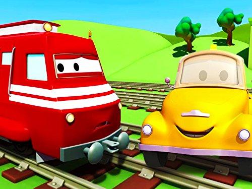 Troy der Zug und Tom der Abschleppwagen