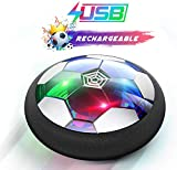 Ucradle Air Power Fußball - 2019 Wiederaufladbar Hover Ball Indoor Football mit LED, Super Spaß...