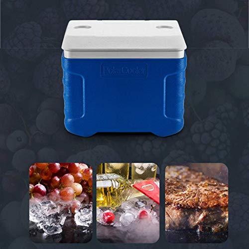 MU Tragbare Kühlbox Leistung auf Rädern 90L Auto Kühlschrank, Essen Trinken Picknick Strand Camping Isolierte Eisbeutel Cool Box-Outdoor Bier Party Kühlung Transportbox, Grill, Heckklappe