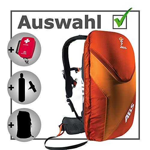 Unbekannt ABS Vario Unit 8L Zip-On red/orange - Large