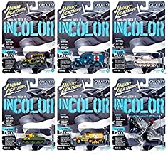 New DIECAST Toys CAR JOHNNY LIGHTNING 1:64 Military 2019 - Release 1 Version B Assortment (6 Styles) Set of 6 JLML004-48B